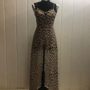 Material Girl Animal print with a built in Shorts